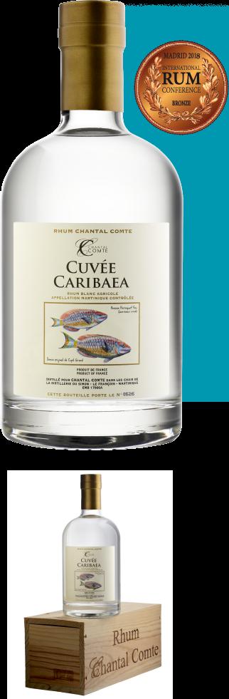 CUVEE CARIBAEA Martinique AOC White rum