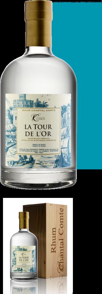 LA TOUR DE L'OR Martinique AOC White rum