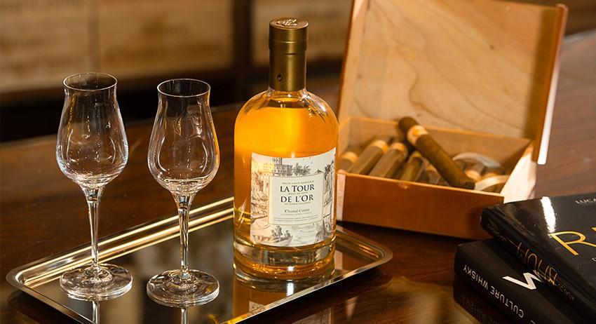 LA TOUR DE L'OR BRUT DE FÛTS - Rhum Vieux Agricole Distillerie Bielle-Marie Galante